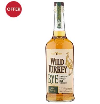Wild Turkey Rye Whiskey £24 @ Waitrose