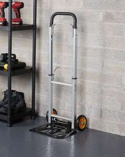 Workzone Aluminium Handtruck 90kg £12 99 @ ALDI in-store or