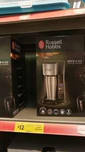 Russell Hobbs Brew and Go Coffee Maker @ Morrison's Llanishen Cardiff. £12 instore