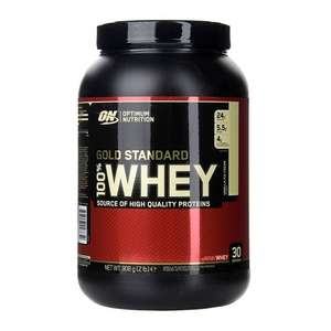 2 X Gold standard 908g whey protein for £36 with code MSE20 at Holland and Barrett