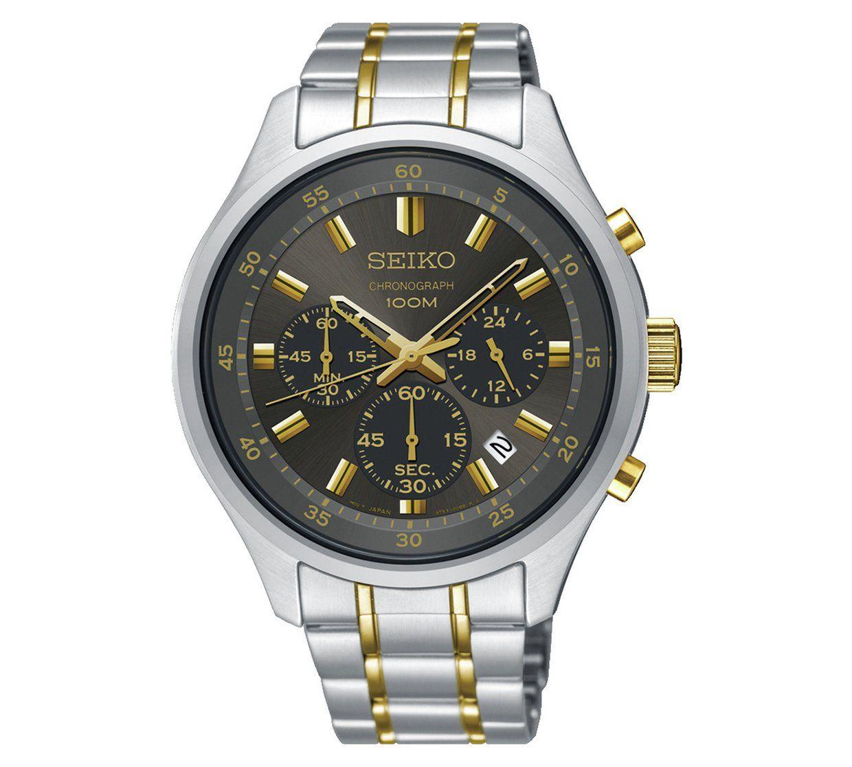 Seiko SKS591P1 Men's Two Tone Bracelet Quartz Chronograph Watchwas £149.99 now £97.99 @ Argos