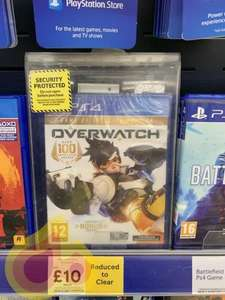 Overwatch Game of The Year Edition PS4 £10 at Tesco BEVERLEY maybe in store only