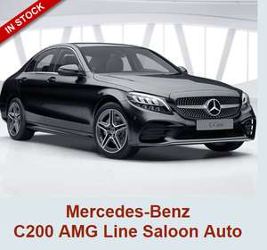 Mercedes-Benz C200 AMG Line Saloon Auto £269 10k miles p.a Lease 24 months £8999.66 Inc £360 admin @ Mad sheep leasing