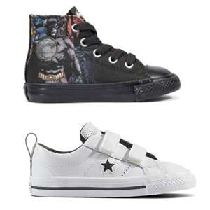 Toddlers Converse £12.99 delivered EG: Chuck Taylor All Star DC Comics Rebirth @ Converse - Others offers in OP