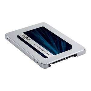 "Crucial MX500 500GB 2.5"" SATA SSD/Solid State Drive £57.25 / £62.04 UPS del @ Scan"