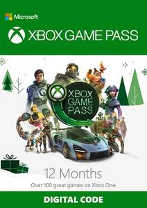 12 Month Xbox Game Pass - £46.55 - CDKeys (3% discount code)
