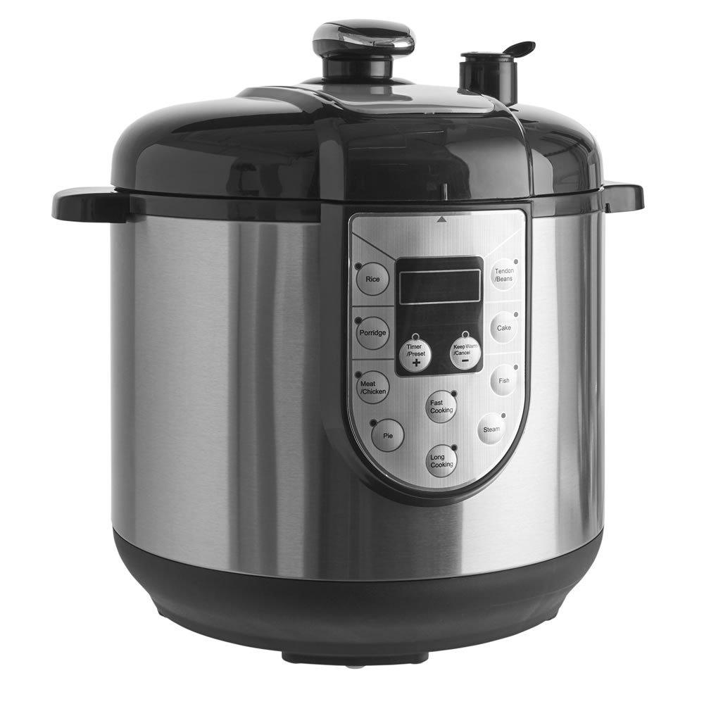Half Price Wilko 6L Pressure Cooker with 2 year guarantee - £25 + Free C&C @ Wilko
