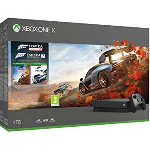 Xbox One X (Forza Horizon 4/Forza 7 Bundle) - Used, Good - £316.79 - Amazon Warehouse