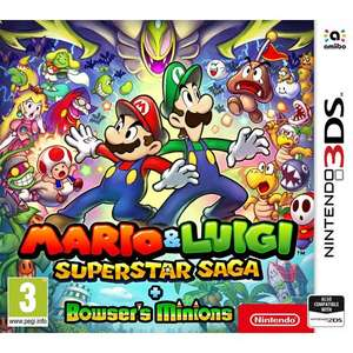 Mario and Luigi : Superstar Saga + Bowser's Minions - Nintendo 3DS - £14.95 @ TGC