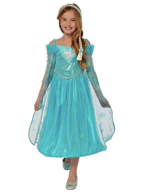 Disney Frozen Elsa Fancy Dress Costume - 7-8 Years 3-4 years & 5-6 - £5 @ Argos (free C&C)
