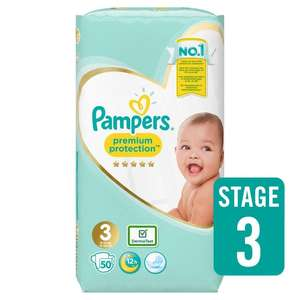 Pampers nappies 3 for £11 @ Ocado