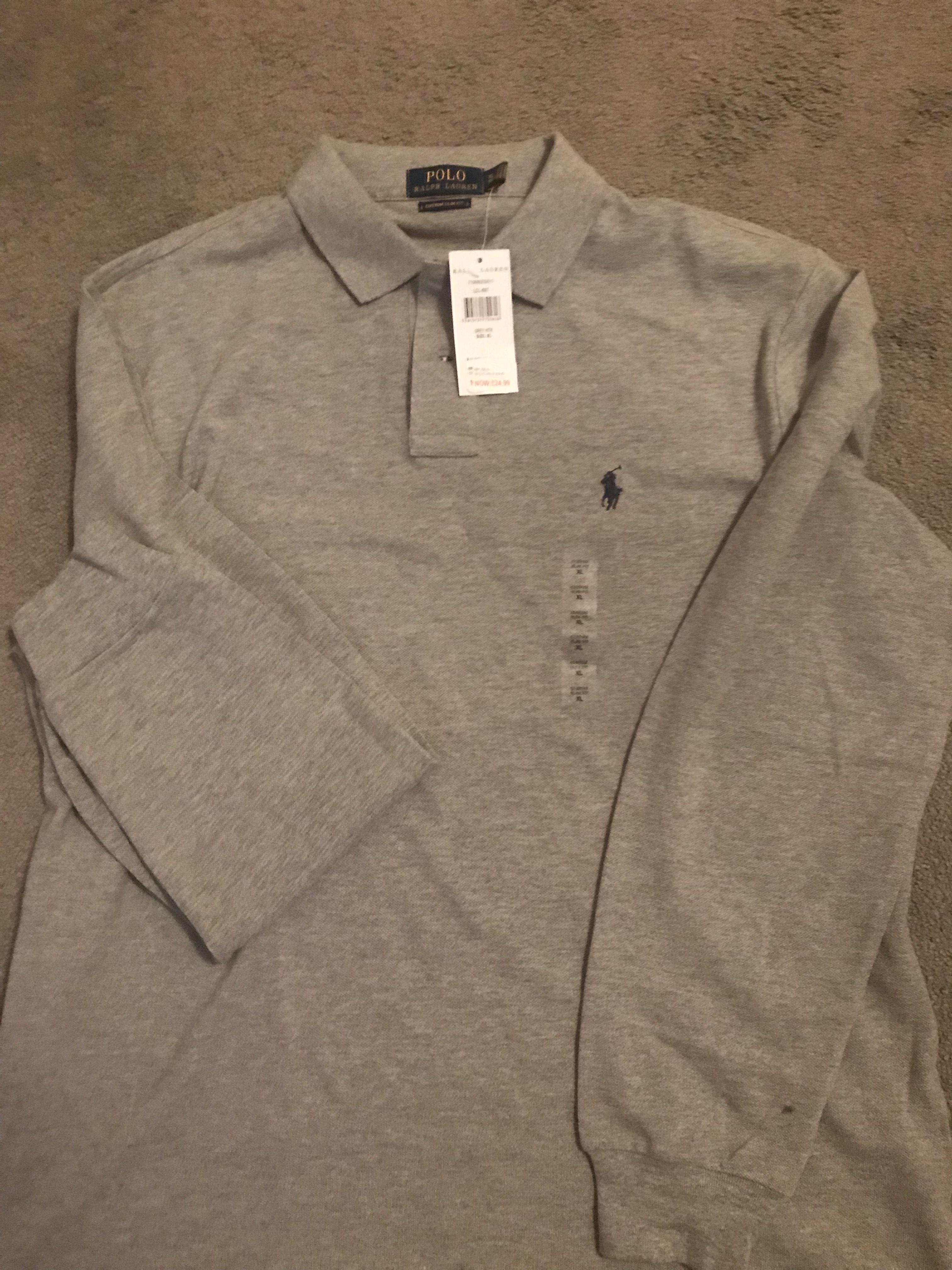 Ralph Lauren L/S polo shirt - £24.99 instore @ Ralph Lauren Cheshire Oaks Outlet (instore)