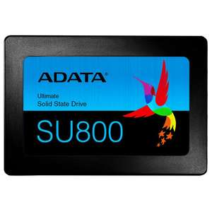 ADATA SU800 512GB 3D-NAND 400TB TBW Long-Endurance 560MB/s R,520MB/s W 2.5 Inch SATA III for £65 Delivered @ Amazon UK Prime Exclusive