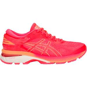 Asics Women's Kayano 25 Shoes, £42.50 at Wiggle pink,size 5 only with code