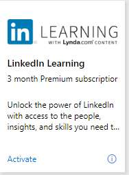 LinkedIn Premium 3 MONTHS FREE with MS visualstudio