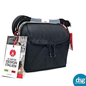 Manfrotto Amica 10 Shoulder Bag Camera Bag - Black For DSLR / MICRO / LENSES, £6.99 at dsg_outlet/ebay