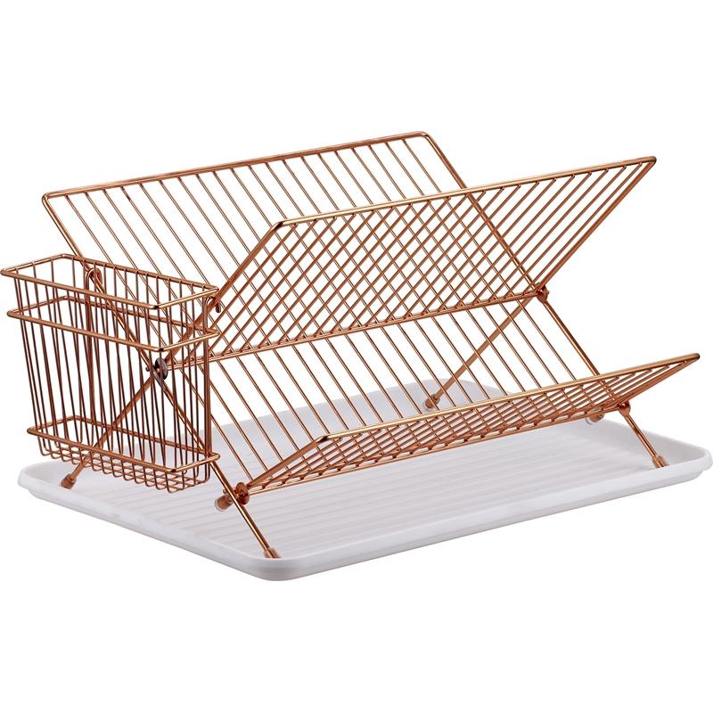 Copper Dish Rack & Cutlery Holder for £2.50 @ Homebase (Free C&C)
