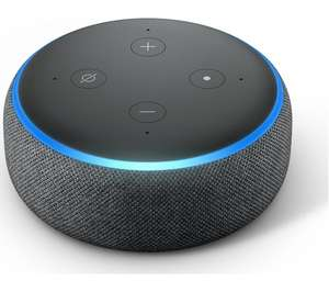 Amazon Echo Dot (2018) - Charcoal for £29.99 delivered @ Currys