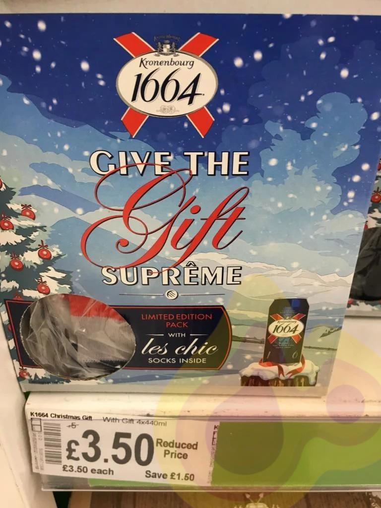 Christmas Kronenbourg 1664 & John Smiths Gift Sets - £3.50 instore at Asda Cardiff Gate