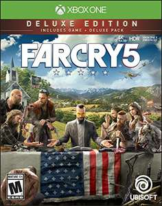 Far Cry 5 Deluxe Edition (XBox Digital Code) £18 @ Amazon US