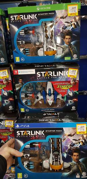 Starlink Battle For Atlas Starter Pack for Xbox One, Ps4, Nintendo Switch £17.99 Smyths Toys