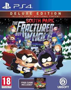South Park: The Fractured But Whole (Deluxe Edition) PS4 £12.50 @ coolshop ( includes South Park Stick of truth digital game)