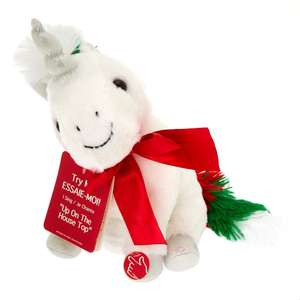 Claire's Christmas Unicorn Dancing & Singing Soft Toy from £2 - incl in 3 for £5 - free c&c