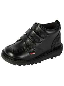 Kickers Children's Kick 3 Strap Shoes, Black - Junior size 5 and 6 only. £18 + £3.50 del. £2 C&C free on orders £30+ John Lewis & Partners