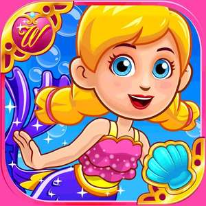 My Town. Wonderland: Little Mermaid game free on iOS Apple and Android Google Play