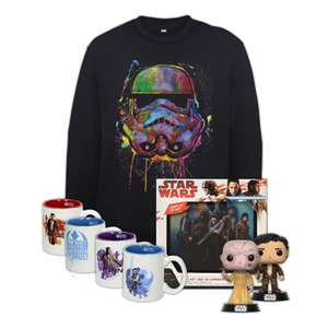 Star Wars full force bundle inc 4 espresso cups, 2 x Funko Pops, 3D led canvas & Stormtrooper sweatshirt £30.98 delivered @ Zavvi