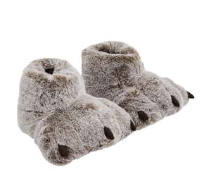 Kids novelty claw feet slippers £3 free c+c @ Mothercare