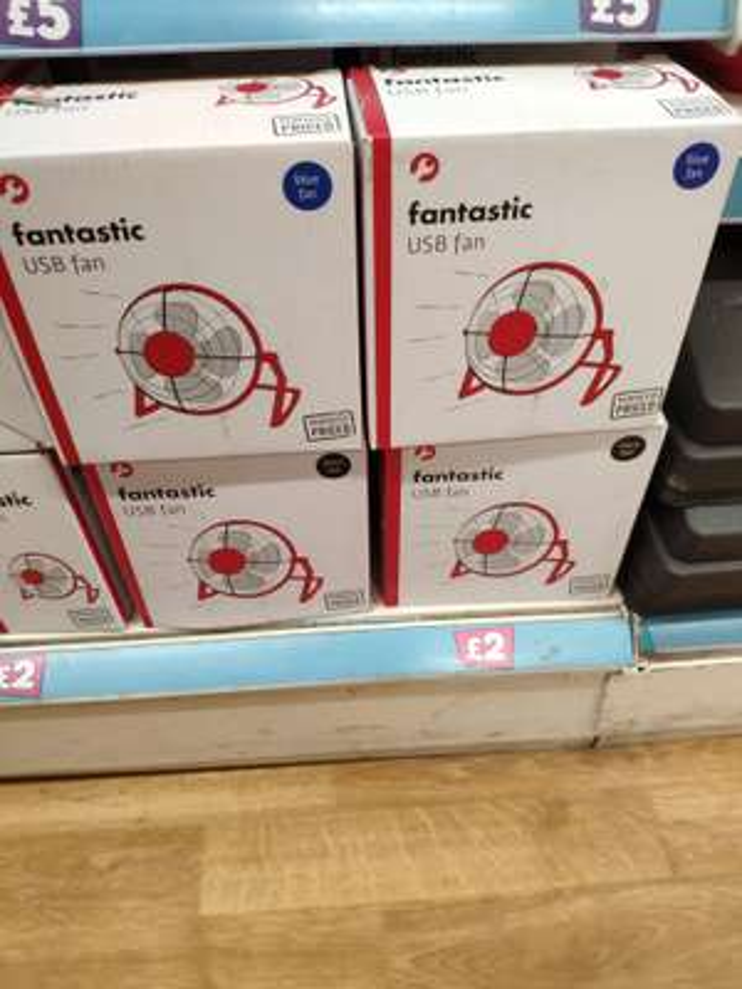 Usb desk fan £2 @ Poundland