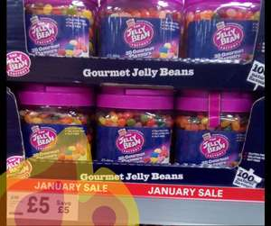 The Jelly Bean Factory 28 Gourmet Flavours Jelly Beans 1.4kg £5 @ Iceland in-store (nationwide)