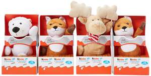 Kinder Chocolate Mini Mix Fluffy Toy Pack of 4, Assorted £15.13 (Prime) £19.62 (Non Prime) at Amazon UK