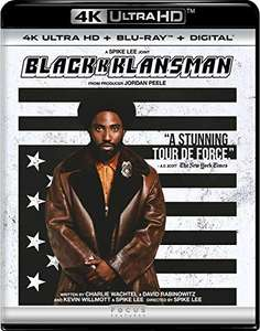 BlacKkKlansman 4K Ultra HD + Blu-ray - £15.26 delivered @ Amazon.com