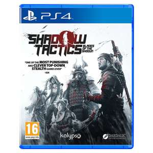 Shadow Tactics: Blades of the Shogun PS4 (New) £6.99//Call of Duty Infinite Warfare Legacy Edition (New) £8.99 delivered @ go2games