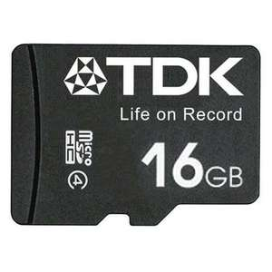 3x TDK 16GB Micro SD Cards (48GB In Total) Only £9.64 @ MyMemory
