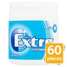 Wrigleys extra chewing gum bottle 60 pieces - £1.50 @ Esso fuel station on Seven Kings high road