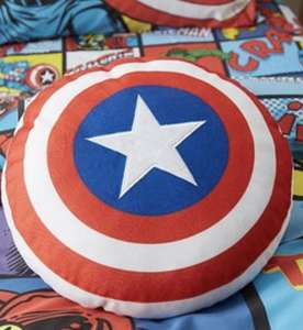 Disney Marvel Comics Cushion £6.40 @ Dunelm free c+c