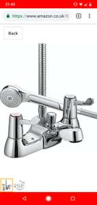 Bristan Bath Shower Mixer from £34.54 and Basin Taps from £16.10 @ Amazon Warehouse