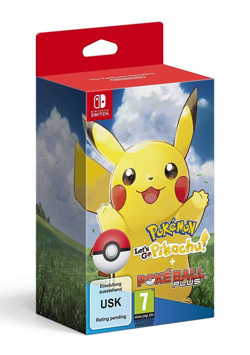 Pokemon Let's Go Pikachu Including Poke Ball Plus on Nintendo Switch £69.99 @ Simply Games