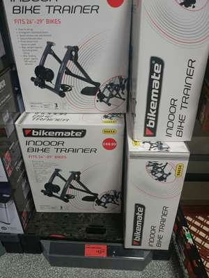 "Aldi Bikemate Indoor turbo bike trainer (26""-29"" bikes) £12.49  instore"