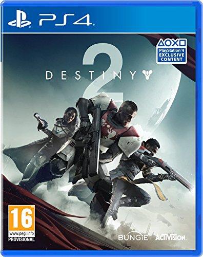 Hard Copy of Destiny 2 with Salute Emote (Exclusive to Amazon) (PS4) £5.99 @ Amazon Prime