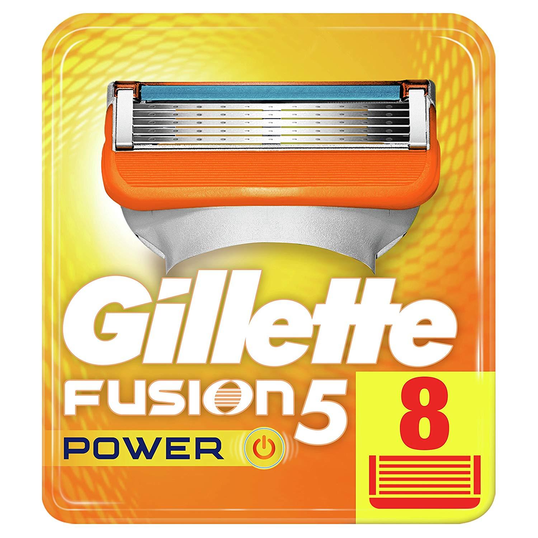 Gillette Fusion5 Power Razor 8 Blades £12 (Prime) / £16.49 (non Prime) or as low as £10.20 with S&S! @ Amazon Prime