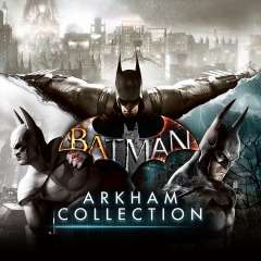 Batman Arkham Collection Trilogy on PS4 with all post-launch content £15.99 @ PSN