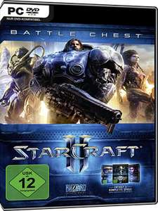 Starcraft 2 Battlechest 2.0  All 3 games £15.56 with code at  mmoga