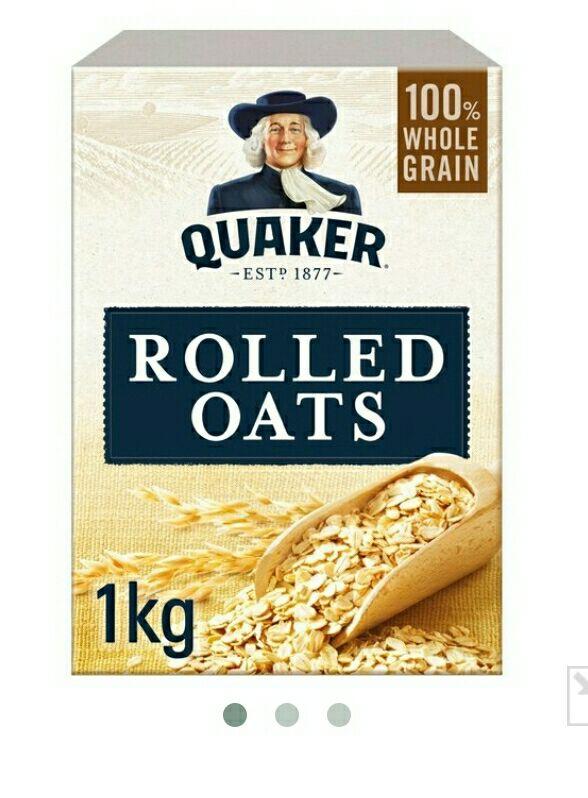 Quaker Oats 1kg  - Rolled Oats £1 @ NisaLocally