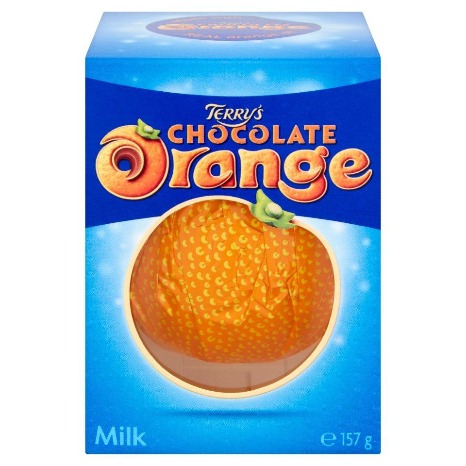 Terry's Chocolate Orange Milk 157g - 50p   / Cadbury 2 Creme Egg Cupcakes £2.00 @ Iceland Online & Instore