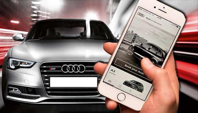 30% off Audi on demand premium car hire