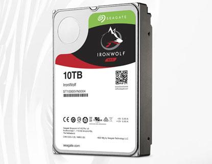 "Seagate IronWolf 10TB NAS Hard Drive 3.5"" SATA III 6GB's 7200RPM 256MB Cache - £269.99 @ Ebuyer.com"
